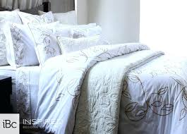 country cottage duvet coverstone fresno cover set stone allegra cotton sateen