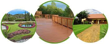 m p designs logo landscaping and decking work background patch