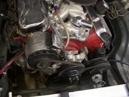 how to use a small block chevy serpentine drive on a big block chevy rip tear whatever floats your boat just cleaning the front of the engine off