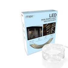 Meil Led Lights Meilo 16 Ft True Tech Led Mini Rope Light With 360 Degree Directional Shine 16