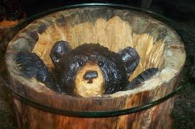 Bear Coffee Table Bear Coffee Table With Glass Top Look Here Coffee Tables Ideas