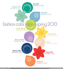 Pantone Color Chart 2013 Pantone Fashion Color Report Spring 2013 Posted By Senay