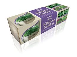 Herb Kitchen Garden Kit Unwins Herb Kitchen Garden Seed Kit Amazoncouk Garden Outdoors