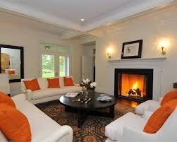 White Leather Living Room Sets Orange Living Room Walls Silver