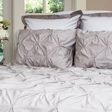 image of new light grey duvet cover