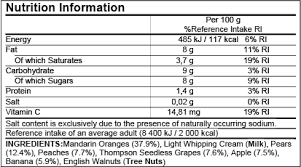 voluntary nutrients may be shown if they are present in significant amounts the regulations allow several variations in the labeling format