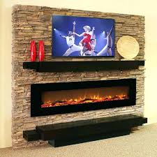 linear fireplace with tv electric fireplaces no heat inch log linear wall mounted electric fireplace electric