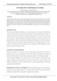 E Business Essay Term Paper On E Commerce Pdf Your Value Proposition