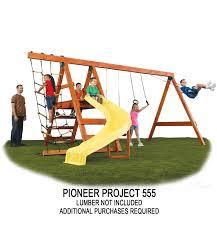 pioneer custom swing set hardware kit by swing n slide