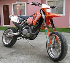 super motard for sale 2004 ktm 525 exc