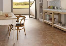 Terracotta Floor Tile Kitchen Floor Tile Terracotta Matte Hexatile Nais