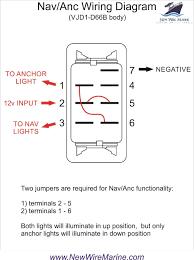 nav anc illuminated rocker switch for toggle wiring diagram