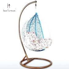 birdcage swing chair hanging bed chair pillow