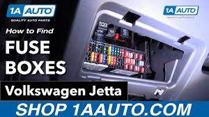 how to find fuses 16 volkswagen jetta youtube how to find fuse box in apartment at How To Find A Fuse Box