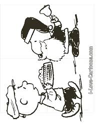 Small Picture Charlie Brown Christmas Coloring Pages Charlie Brown Snoopy