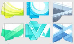 Pocket Template Business Papers Folder Template Paper Presentation Files Pocket