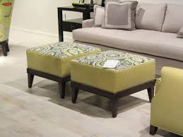 Image of: Upholstered Coffee Table Ottoman
