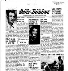 The Dillon Daily Tribune (Dillon, Mont.) 1941-1962, August 07, 1957, Page  1, Image 1 « Montana Newspapers