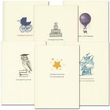 Congratulations Cards Milestone Assortment Box Of 12 Cards Env
