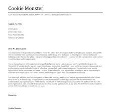 Sample Cover Letter Monster 7 18 Clever Design Ideas Basics