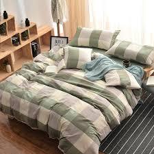 Free Modern Bed Quilt Patterns Solid Color Bed Quilts Solid Color ... & Modern Quilt Cover Set Plaid Print Bedding Sets Bedlinen Super King Size  For Kids Teens Adults ... Adamdwight.com