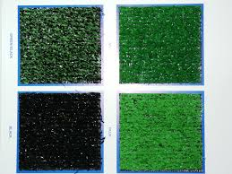 Turf360 Green Base Hit Artificial Turf With White Action Back