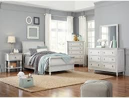 Sarah Rustic White Full Bedroom Set
