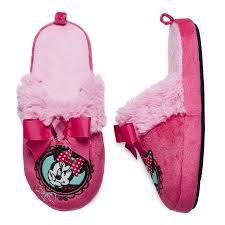Disney Disney Toddler Girls Pink Slide On Minnie Mouse Slippers