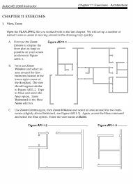 autocad architectural exercises 3 pdf
