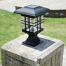 solar panel lamp solar lamp post column headlights fence lamps wall lamp headlamp led solar light outdoor garden lights 5574850 2018 15 65