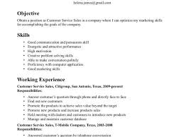 Transferable Skills Resume Example Examples Of Resumes Throughout