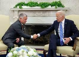 بايدن بعد لقائه ملك الأردن: لطالما كنتم إلى جانبنا وستجدوننا دوما إلى جانبكم