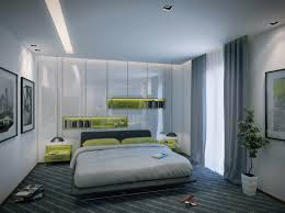 Indoor:Modern Apartment Bedroom Design Boasts A Dramatic Use Of Rich Wood  That Spans From
