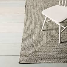 corrigan studio salt and pepper area rug