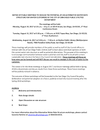 City Of San Diego Notice Of Public Meetings Asian