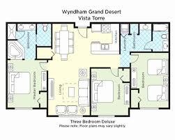 ... Wyndham Grand Desert Floor Plan Unique Wyndham Grand Desert 3 Bedroom  ...