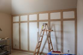 how to the paneled wall decor