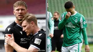 Osako brace and rashica gala in sensational win sub now: Bundesliga Arminia Bielefeld Survive Bremen Relegated Cologne Fight On Sports German Football And Major International Sports News Dw 22 05 2021
