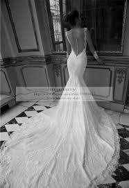 dress backless wedding dress long sleeve wedding dress mermaid