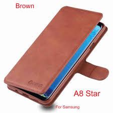 Ốp Lưng Da Pu Cho Samsung Galaxy A8 Star