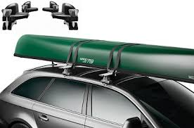 transport your canoe to your next paddling destination with the thule 819 canoe carrier the canoe carrier features durable gunwales with red sides that