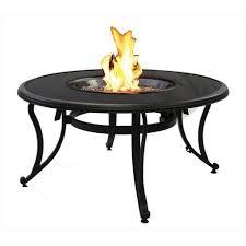 black glass fire pit table black fire pit i14