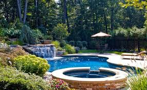 Backyard Swimming Pool Designs Beauteous 48 Pool Landscape Design Ideas Home Design Lover