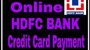 how to make hdfc bank credit card payment credit card ka payment kaise kare billdesk payment
