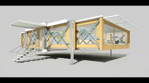Foldable Houses Ten Fold Engineering Deploys Flat Pack Homes That Build