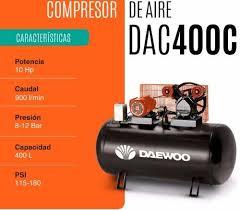 compresor de aire industrial. características compresor de aire industrial