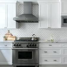 gray and white backsplash tile white arabesque tiles with black grout white glass subway tile backsplash