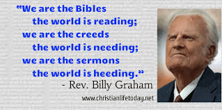 Billy Graham Quotes Inspiration Billy Graham Timeless Quotes Christian Life Today