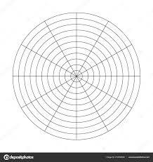 Free Printable Polar Coordinate Graph Paper Grid Of 10