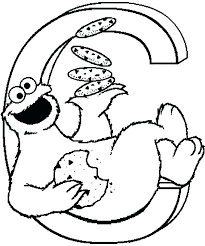 Cookie Monster Coloring Page Cookie Monster Coloring Pages Cookie